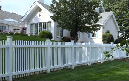 Image result for vinyl fencing